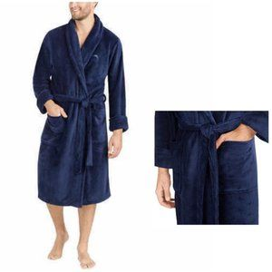 Men's TOMMY BAHAMA Island Belted Plush Robe S/M